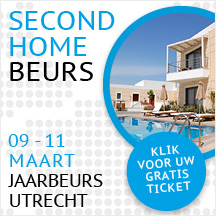 Free tickets fair Secondhome, Utrecht 2018